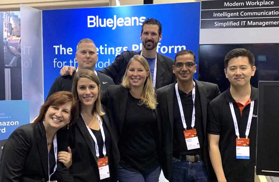 BlueJeans Team at Microsoft Ignite